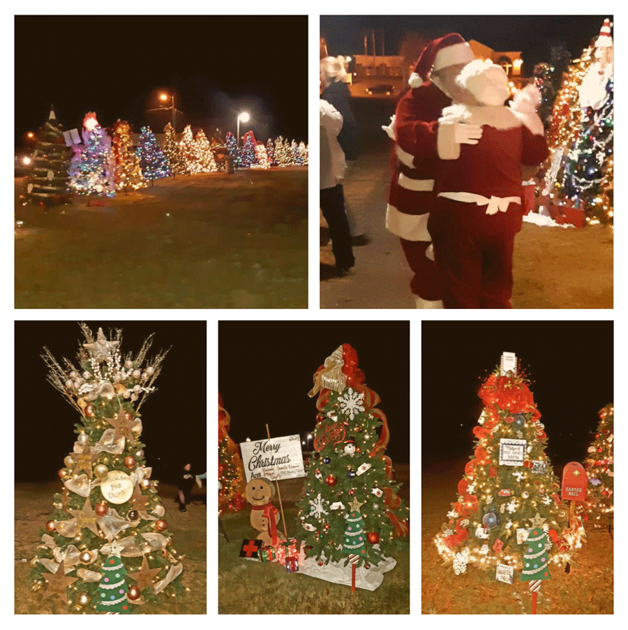 2018 Christmas Trail of Lights Collage