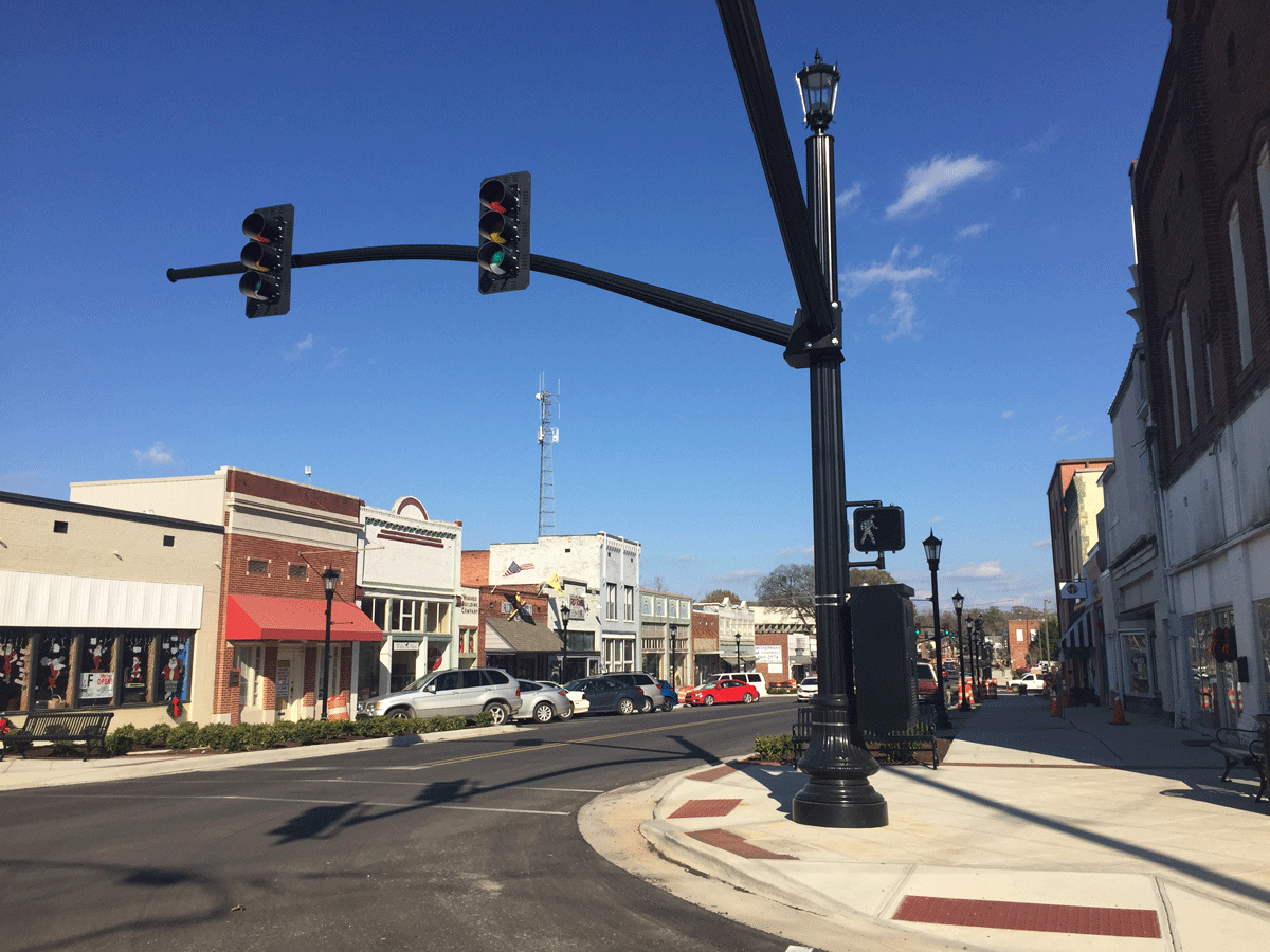 Main Street After Landscape C